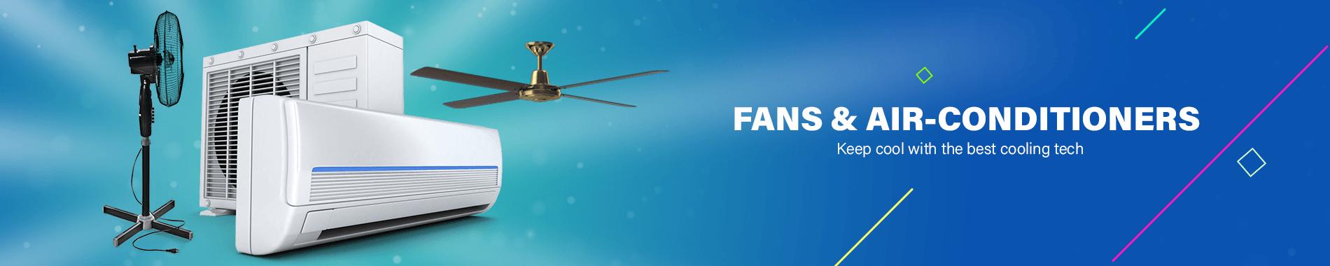Ceiling Fan & Standing Fan